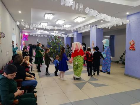 Развлекательная программа для детей в Сагуновском СДК
