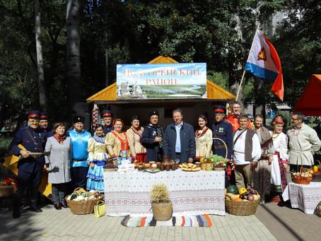 Подгоренцы представили район на сельскохозяйственной ярмарке