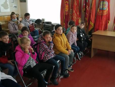 Экскурсия в музее для пришкольного лагеря