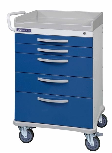 Anestesi-/prosedyrevogn ISO m/tilbehør