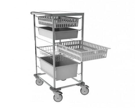 ISO-modul transportvogn, enkel