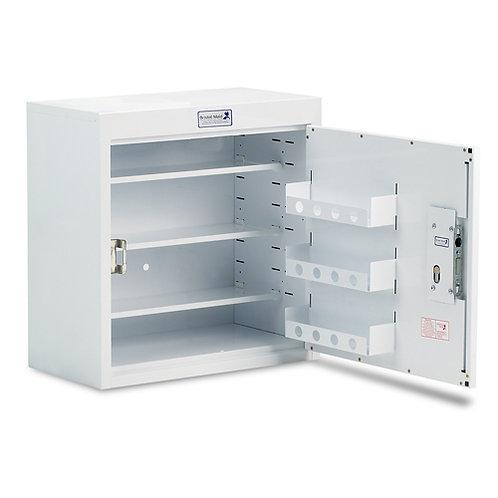 Medisinskap PC m/enkel dør og dørhyller, låsbart