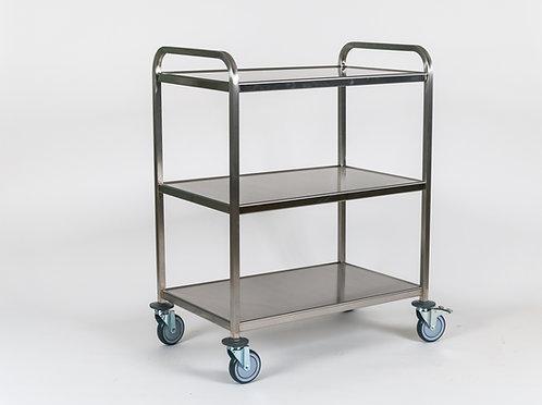 Trillebord i rustfritt stål