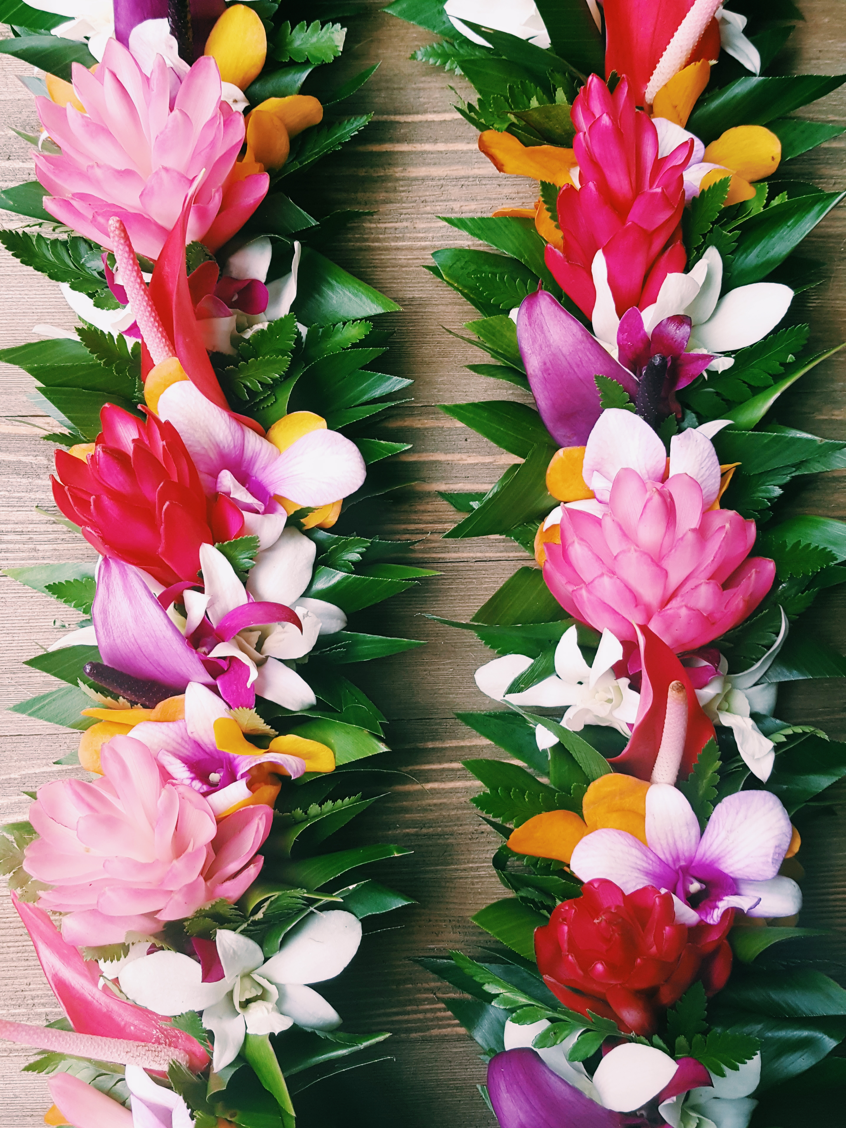 Haku Maui Floral Haku Lei