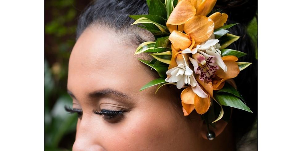FREE Pua Hairpiece Workshop at Haku Maui