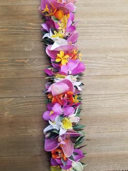 Haku Maui Silk Haku Lei