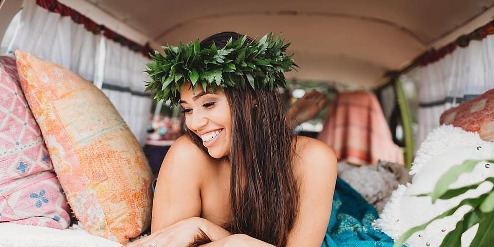 Foliage Lei Poʻo Workshop at Haku Maui