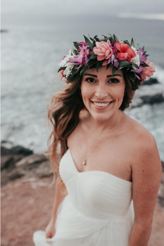 Haku Maui Bridal Haku Lei