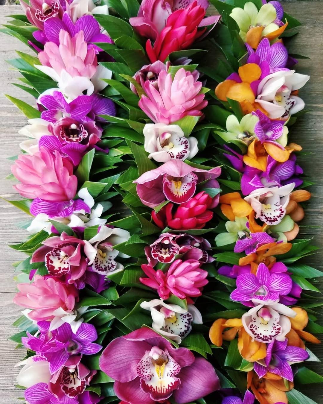 Haku Maui Specialty Floral Haku Lei