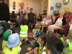 Visit to our local Care Home