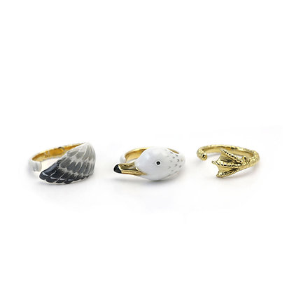 3-Piece Gull Rings