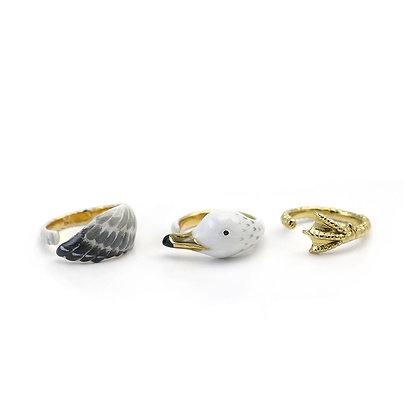 3-Piece Gull Rings