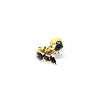 Hornbill,Black stone