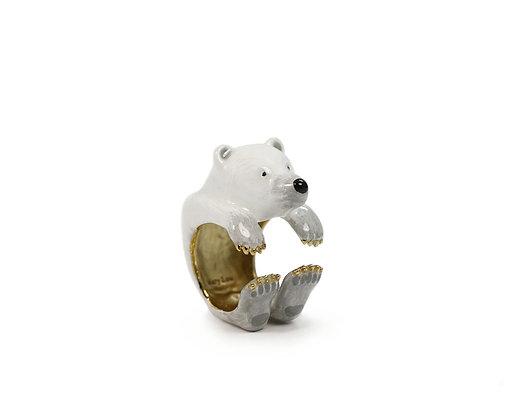 Polar Bear Hug Ring