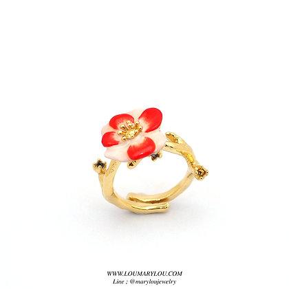 Cistus Ring,RED