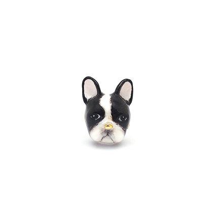 French Bull Dog CHARM(2Black Dot)