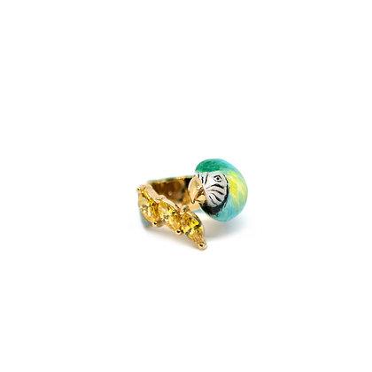 Macaw Blue, Yellow stone