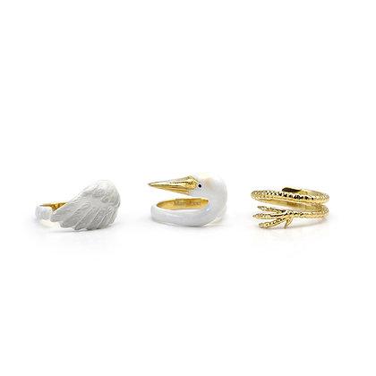 3-Piece Crane Rings