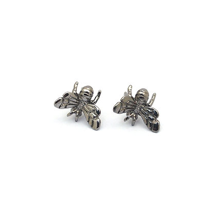 Black Bee Earring