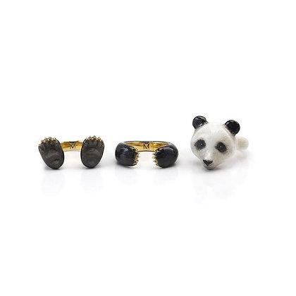 3-Piece Panda Rings