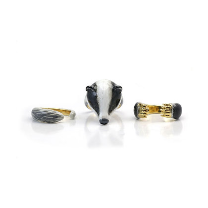 3-Piece Badger Rings