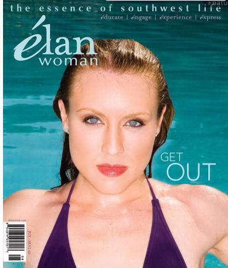 ELAN WOMAN MAGAZINE COVER