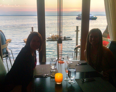 SASH Services Team Lunch over the Puget Sound