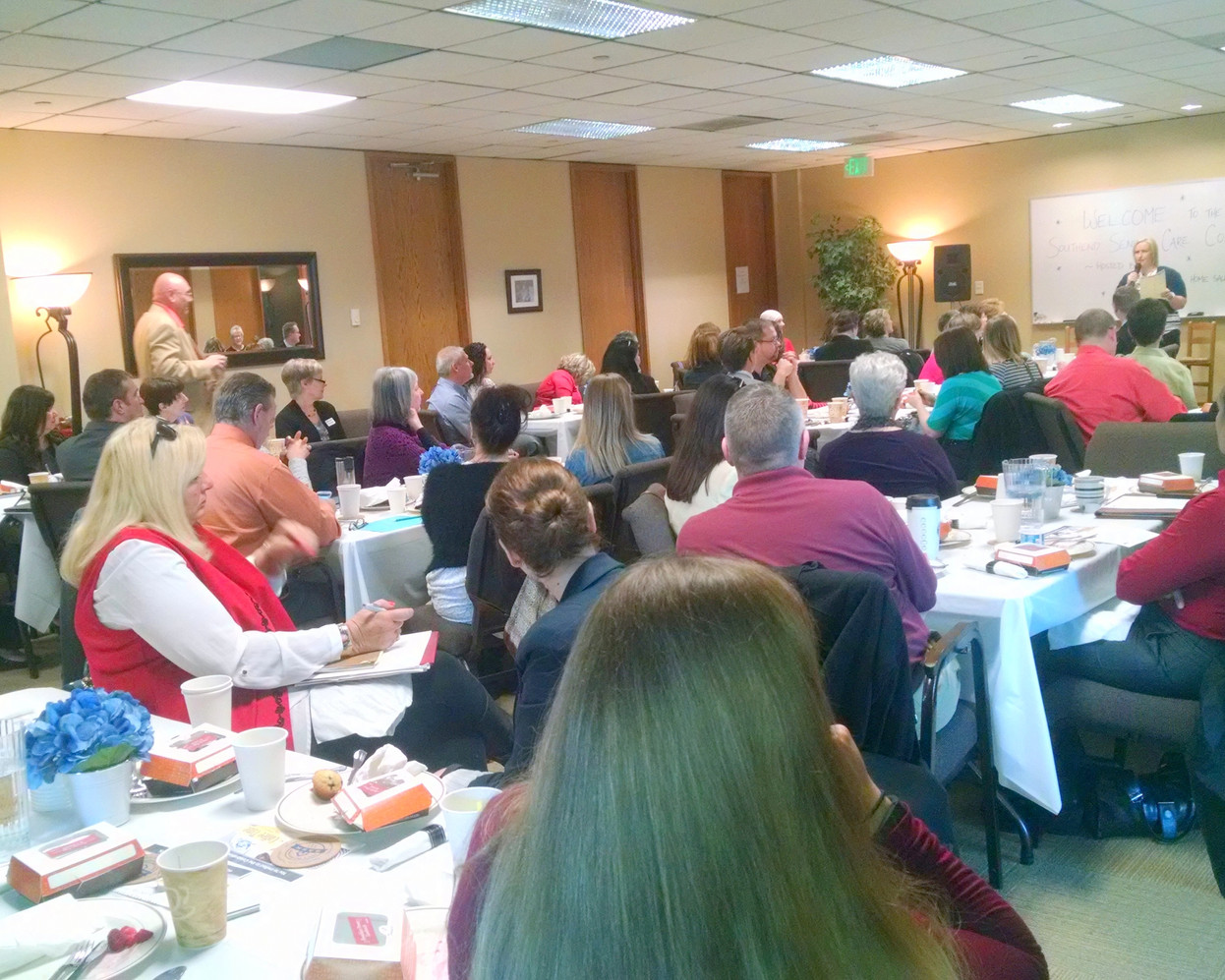 2015 ~ Hosting the Southend Coalition Breakfast