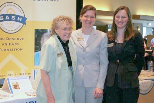 2007 ~ The SASH Booth at an Elder Services Fair