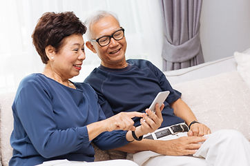 SASH Senior Clients looking at www.sashservices.com