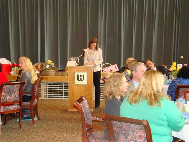 2007 ~ Hosting An Elder Care Networking Luncheon