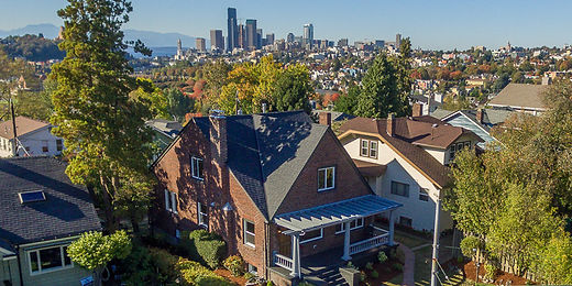 renovated Mt Baker home with a view of downtown Seattle sold by SASH Realty