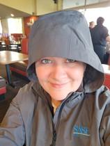 2017 ~ Sporting the New SASH Realty Raincoat