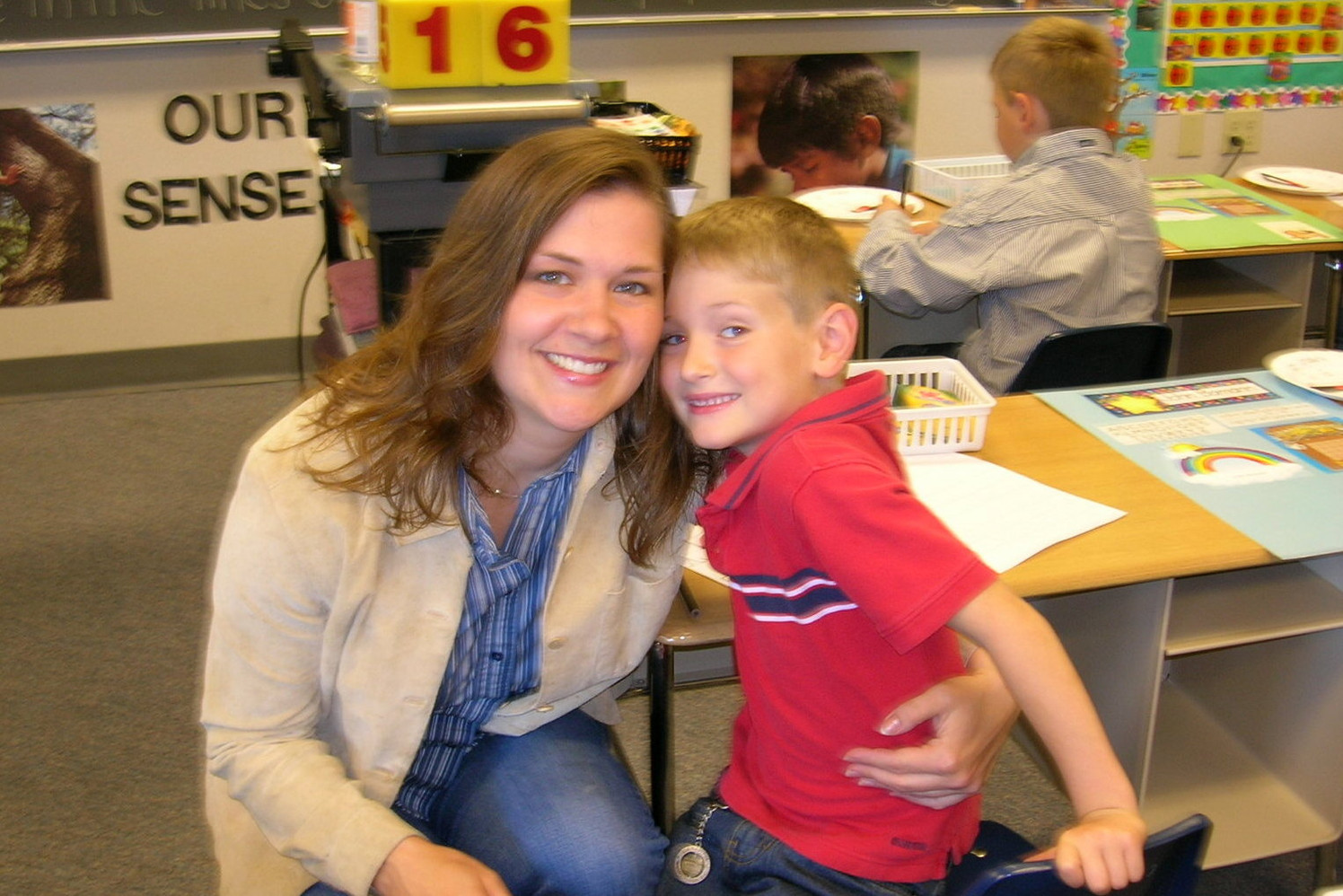 2006 ~ Younger Son's First Day of Kindergarten
