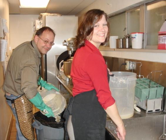 Rebecca Bomann Volunteering