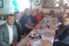 SASH Realty team members luncheon