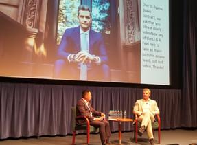 2018 ~ Seeing Fellow Hamilton Grad Ryan Serhant in Seattle