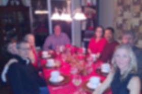SASH Realty team members dinner