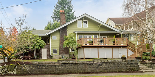 Wallingford Craftsman sold by SASH Realty in Seattle