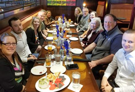 SASH Services Team Lunch