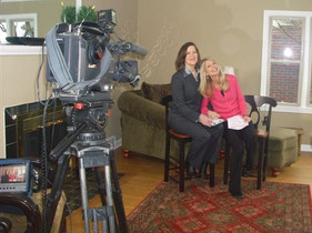 2011 ~ Taping an Interview with Penny LeGate of KIRO 7