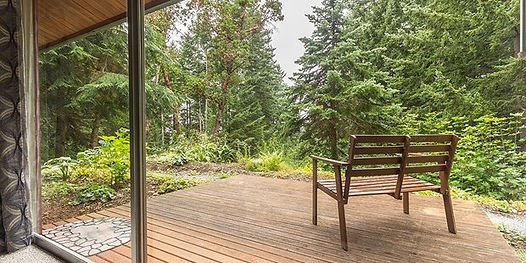Three Tree point home with Puget Sound views