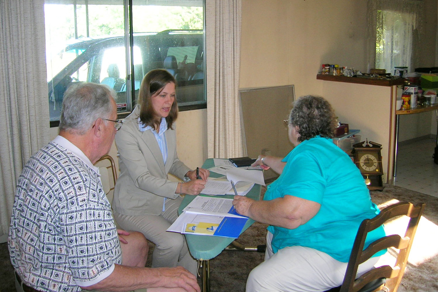 2006 ~ Meeting with Clients to Sell Their Home
