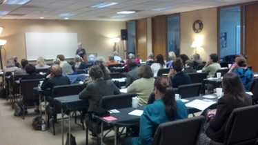2013 ~ Hosting A Sold-Out Seminar on Helping Hoarders