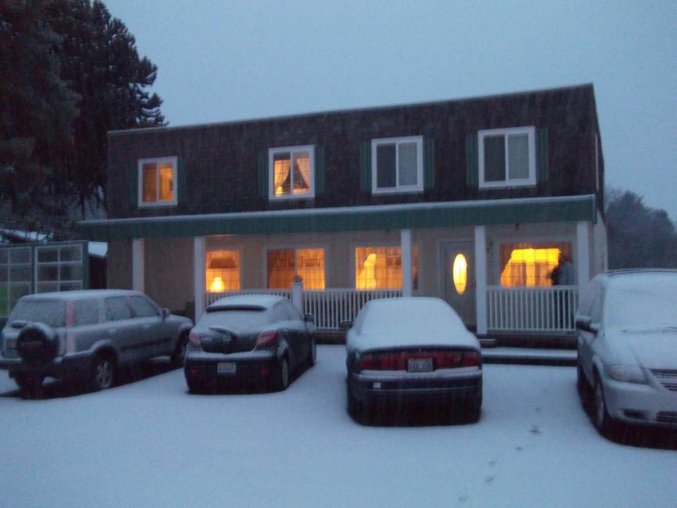 2012 ~ Our SASH Team Retreat Location, Snowed In!