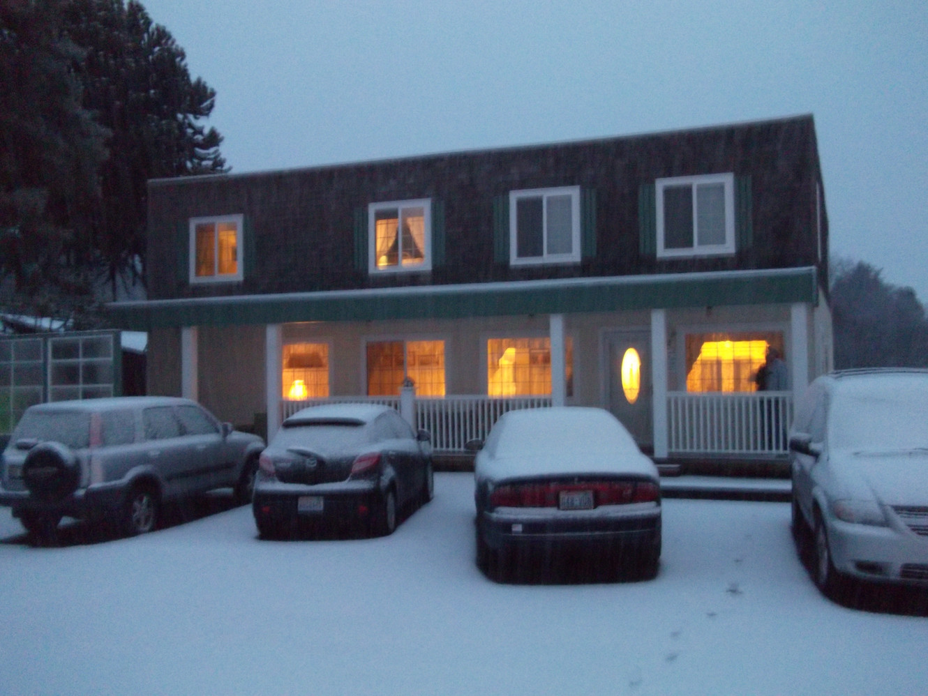 2012 ~ Our SASH Team Retreat Location, Snowed In!