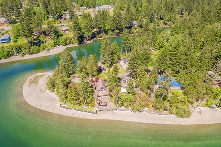 Waterfront properties sold by SASH Realty in the Pacific Northwest