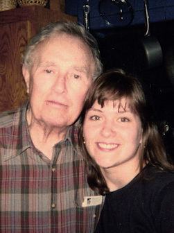 SASH Realty Founder Rebecca Bomann and her gandfather