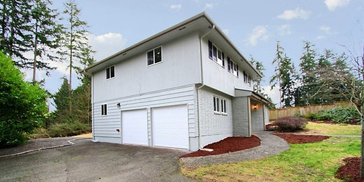 Tri-level home in the Pacific Northwest sold by SASH Realty