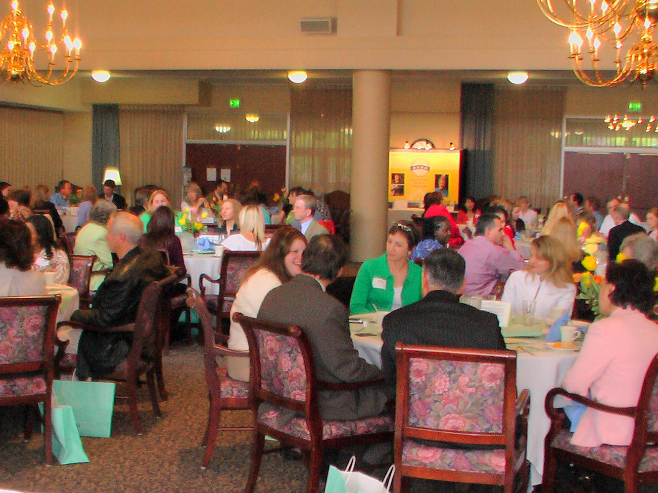 2009 ~ Senior Care Professionals at a SASH Event